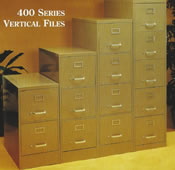 400 Series Vertical Files.