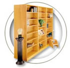 1100 NY Series Hale Bookcases.
