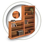 200 Series Hale Wood Bookcases.