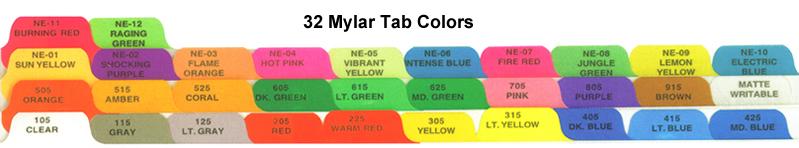 Custom print chart dividers index tabs divider sets medical