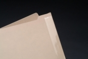 Manila Folder with Mylar Reinforced Spine.