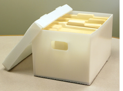Photos Of Tax Document Storage Boxes