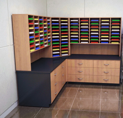 mail sorting units 104 shelves organizer table with 21 storage rh filingtoday com