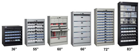 Securely Store End Tab Filing, Binders, Various Media And Important  Documents.