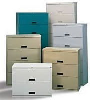 Stak-N-Lok File Storage Cabinets for letter, legal and binder size storage.