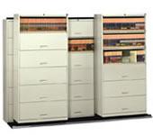 Stak N Lok Cabinet On Trakslider Mobile Systems