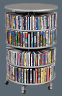 Mulitmedia & Binder carousel for CD, DVD and more.