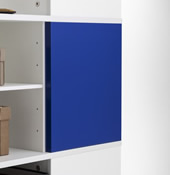 Blue Magnetic Boards for Cube Carousel.