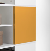 Orange Magnetic Boards for Cube Carousel.
