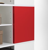 Red Magnetic Boards for Cube Carousel.