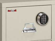 FireKing Fireproof Filing Cabinets & Safes Lock Options
