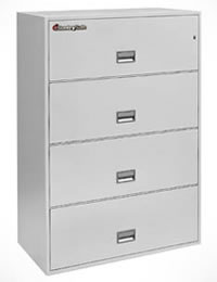 Protect your business-critical documents from intense fire damage with the SentrySafe 2-drawer, 3-drawer and 4-Drawer Lateral Fire File.