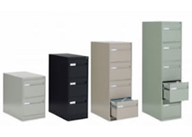 Vertical Filing Cabinets.