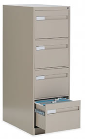 4 Drawer Vertical File.