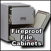 We offer entire line of insulated fireproof file storage cabinets, safes, media, data proteciton files and vault doors.