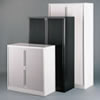 Tambour Door Storage Cabinets For File Folders, Ring Binders, Multimedia, Medical Records, Mix Media and HIPAA Compliant Solutions.