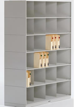 Stackable Shelving Slant Tier Legal-Depth Lateral Open Shelf ...