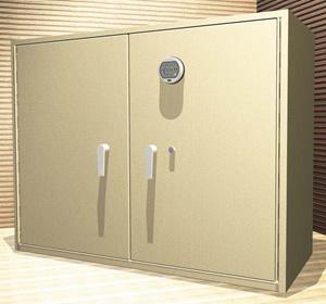 Drug Storage Locker.
