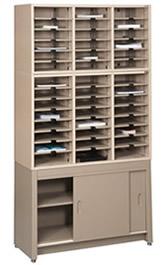 Literature Sorter Cabinet Racks, Literature Organizers U0026 Mail Sorters