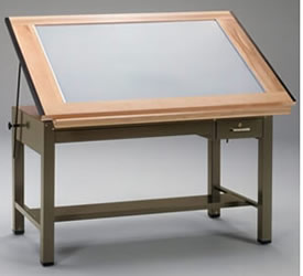 Superbe Drafting Table With Light, Drawing Table