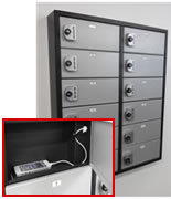 Cell Phone Charging U0026 Storage Lockers