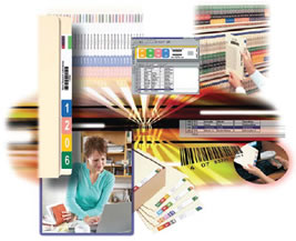 Design and Print File Labels and Folders On-Demand with Your PC and Color Printer.