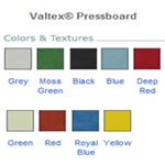 Pressboard Color Options By STS.