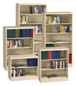 Steel Bookcases.