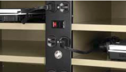 Laptop Security Storage Cabinet | Laptop Charging Station and ...