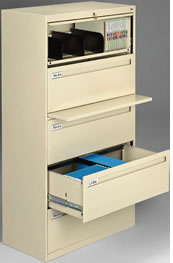 Lateral File Cabinets For Letter Or Legal Size Filing