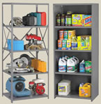 Q Line shelving is designed to handle up to 750 pounds.