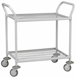 Wire Shelf Hand Carts.